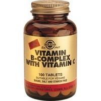 B COMPLEX+VIT.C 100 comprimidos (SOLGAR)
