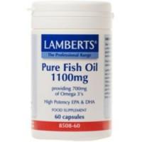 ACEITE DE PESCADO PURO 1100 mg (LAMBERTS)