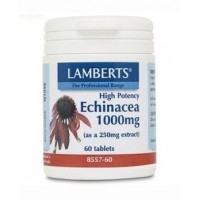 ECHINACEA 1000 mg. 60 Cápsulas (LAMBERTS)