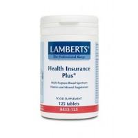 HEALTH INSURANCE PLUS 125 Comprimidos (LAMBERTS)