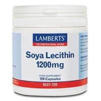 LECITINA DE SOJA 1200 mg. 120 Cápsulas (LAMBERTS)