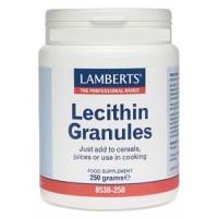 LECITINA DE SOJA GRANULADA 250 gr. (LAMBERTS)