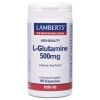 L-GLUTAMINA 500 mg. 90 Cápsulas (LAMBERTS)