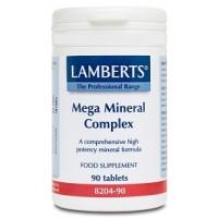 MEGA MINERAL COMPLEX 90 Comprimidos (LAMBERTS)