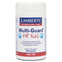 MULTI-GUARD FOR KIDS 100 Comprimidos masticables