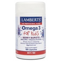 OMEGA 3 for kids 100 Cápsulas (LAMBERTS)