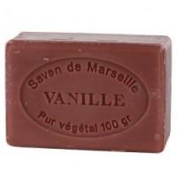 JABÓN NATURAL DE MARSELLA CON VAINILLA (100 GRAMOS)