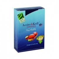 ACEITE DE KRILL NKO niños 60 perlas (CIEN POR CIEN NATURAL)