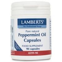 ACEITE DE MENTA 50 mg. 90 Cápsulas (LAMBERTS)