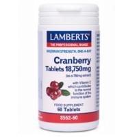 ARANDANO ROJO 18.750 mg 60 Cápsulas (LAMBERTS)