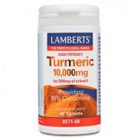 CURCUMA 10.000mg. 95% de Curcumina (LAMBERTS)