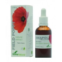 EXTRACTO DE AMAPOLA 50 ml. (SORIA NATURAL)
