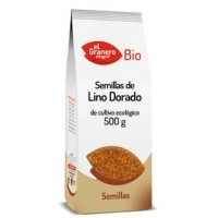 SEMILLAS DE LINO BIO 500 g (EL GRANERO)
