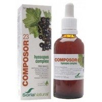 COMPOSOR 23 HYSSOPUS COMPLEX-ALERGIAS 50 ml (SORIA NATURAL)
