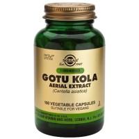 GOTU KOLA - Centella Asiática 100 Cápsulas (SOLGAR)