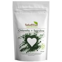 CHLORELLA + SPIRULINA 125g (SaludViva)