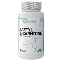 ACETIL L-CARNITINA 250mg 60 cápsulas (NUTRIONE)