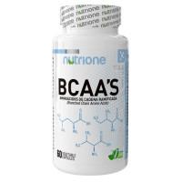 BCAA'S RATIO 2:1:1 500mg 60 Cápsulas (NUTRIONE)