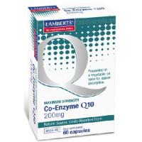 COENZIMA Q10 200 mg. 60 Cápsulas (LAMBERTS)