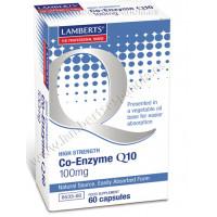 COENZIMA Q10 100 mg. 60 Cápsulas (LAMBERTS)