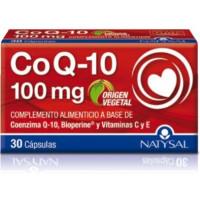 COENZIMA Q10 100mg con Bioperine 30 Cápsulas (NATYSAL)