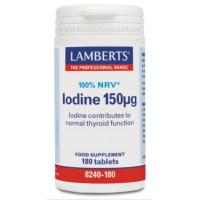 KELP TABLETAS (YODO 150 mcg) 500 Comprimidos (LAMBERTS)